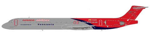 Aserca Airlines MD-82/Courtesy: md80design