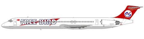 Free Bird etablierten sich durch den Einsatz von MD-83/Courtesy and Copyright: md80design