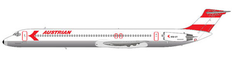 Austrian Airlines MD-81/Courtesy and Copyright: md80design