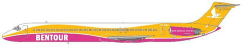 "MNG pax MD-82 in ""Bentour""-Sonderbemalung/Courtesy and Copyright: md80design"