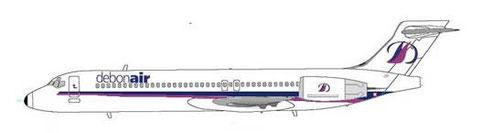 debonair bekundeten Interesse an bis zu fünfzehn MD-95!/Courtesy: MD-80.net