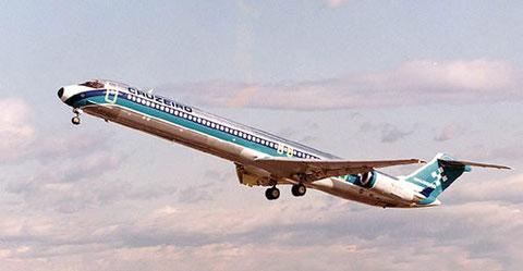 Die einzige MD-82 von Cruzeiro/Courtesy: McDonnell Douglas