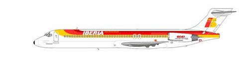 MD-87 der Iberia/Courtesy and Copyright: md80design