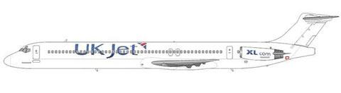 In den Farben von UK Jet unterwegs/Courtesy and Copyright: md80design