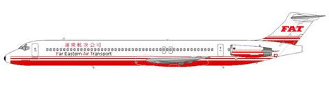 MD-82 im klassischen Farbschema/Courtesy and Copyright: md80design