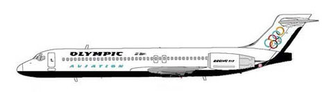 Olympic Aviation Boeing 717-200/Copyright: MD-80.net