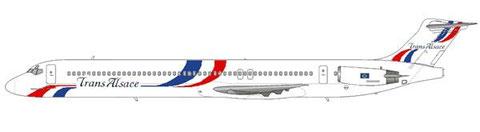 MD-83 in der an Air Liberté angelehnten Bemalung/Courtesy and Copyright: md80design