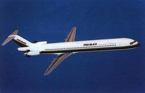 MD-94X-Konzept/Courtesy: McDonnell Douglas