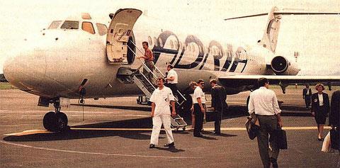 Über viele Jahre Arbeitspferd bei Adria Airways/Courtesy: Adria Airways