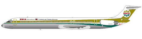 MD-83 der BWIA/Courtesy and Copyright: md80design