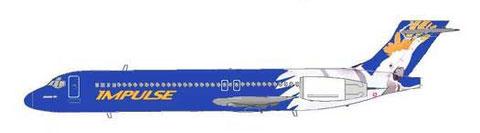 Sehr auffälliges Farbschema/Courtesy: MD-80.net