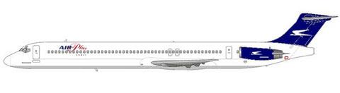 Mit dem Condor von Aerolineas Argentinas/Courtesy and Copyright: md80design
