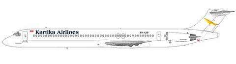 Kartika Airlines MD-82/Courtesy and Copyright: md80design