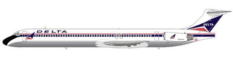 MD-88 im klassischem Farbkleid/Courtesy and Copyright: md80design
