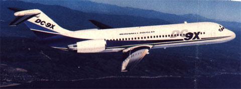 Robuste Struktur und gute Erfahrungen waren Grundlage für die DC-9X/Courtesy: McDonnell Douglas