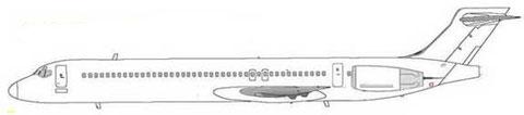 Boeing 717-300X-Konzept/Courtesy: Boeing