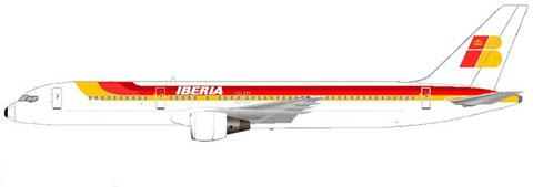Boeing 757-200 der Iberia/Courtesy: MD-80.net