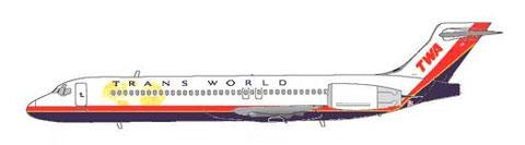 100 Boeing 717 sollten bei TWA zum Einsatz kommen/Courtesy: MD-80.net