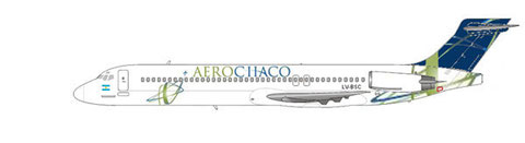 MD-87 der AeroChaco/Courtesy and Copyright: md80design