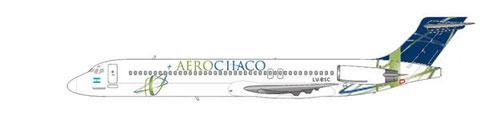 MD-87 der AeroChaco/Courtesy and Copyright: md80design