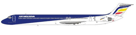 So würde die Bemalung von Air Moldova auf einer MD-82 aussehen/Courtesy and Copyright: md80design