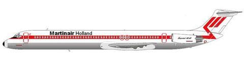 Ersatz für die langjährige DC-9-Flotte wurde die MD-82/Courtesy and Copyright: md80design