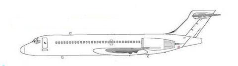 Boeing 717-100X-Konzept/Courtesy: Boeing