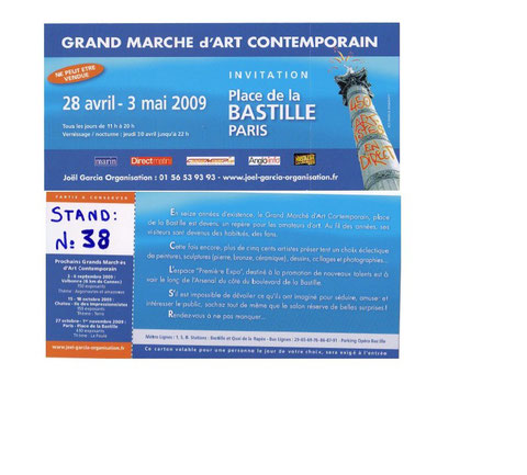 GRAND MARCHE d'ART CONTEMPORAIN