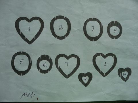 Das Kirigami Herz