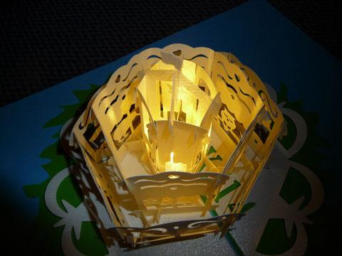 Teelicht Durchmesser 3,5 - passt perfekt!