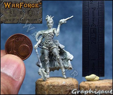 Inquisitrice Alicia Von Gaut, Warforge, Eurobitz, par Gautier Giroud, Graphigaut