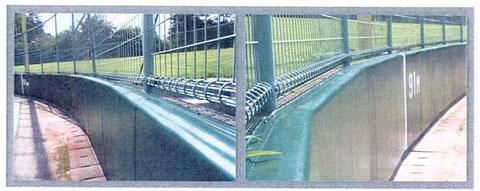 ラバーフェンス用塗料写真