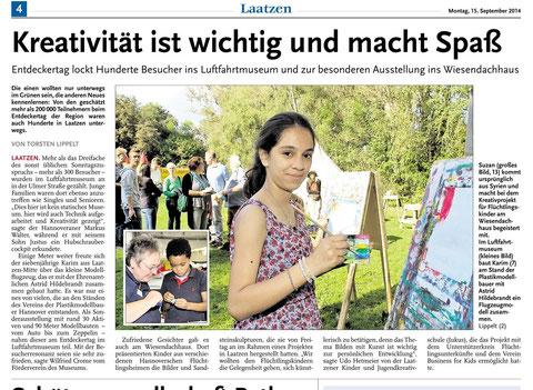 Leine-Nachrichten 15.09.2014