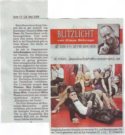 Sonntagsblitz, 24.5.2009
