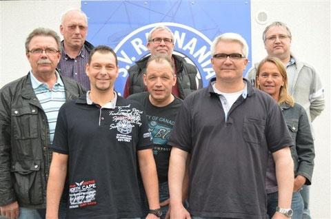Karl-Heinz Fischer, Klaus Henne, Mike Pribyla, Gisbert Sorgaz, Norbert Lüer, Michael Kahnert, Kerstin Ephan und Hans-Peter Hoffmann