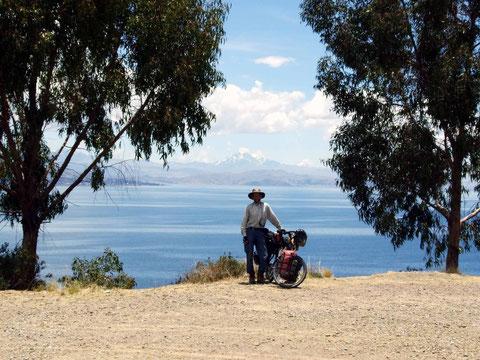 am Titicacasee in Nordbolivien
