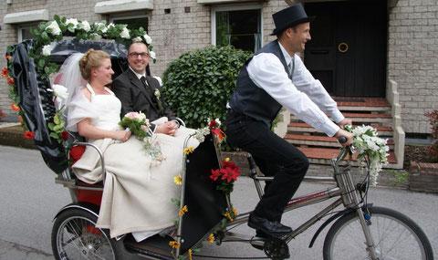 Brautpaar in Hochdahl