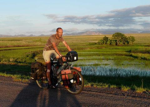 im zentralen Hochland von Madagaskar