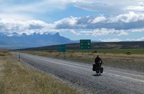 in Patagonien (Südchile)