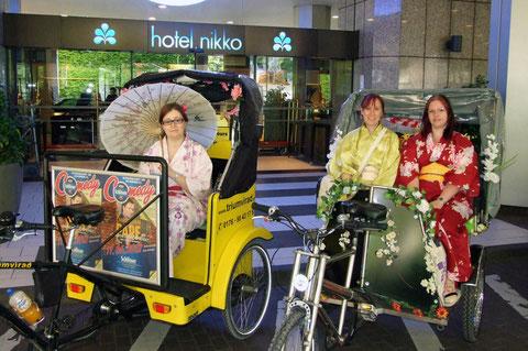 Kimono-Trio am Japantag 2012