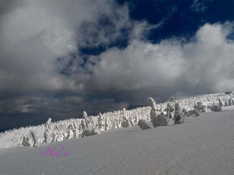 日本三大樹氷 森吉山
