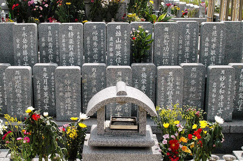 個人墓(個人墓標)