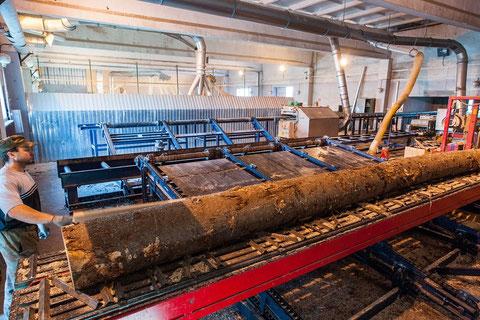 ЛЕ ШАЛЕ производство профилированного клееного бруса