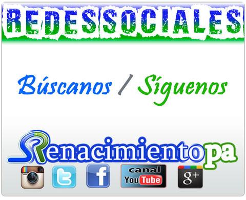 Búscanos, Síguenos... Redes Sociales