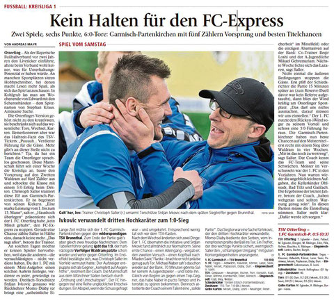 Ga-Pa Tagblatt vom 18.04.2017