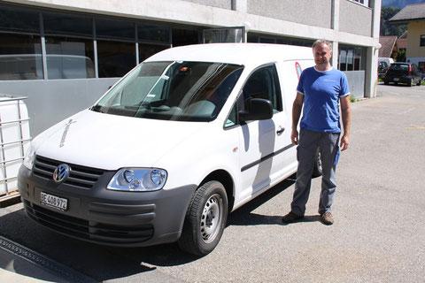 Unser Servicemonteur Heinz Wehren
