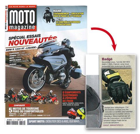 MOTO Magazine Fevrier 2014