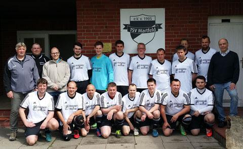 Sponsor der 2. Herren (TSV Martfeld Bereich Fußball) 2015
