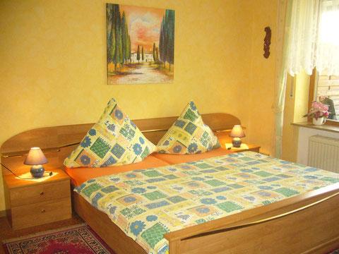 Wunderschönes Wohn-Schlafzimmer mit Südterrasse und direkten Zugang zur Liegewiese und Garten.