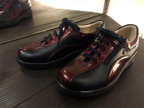 紐靴でもジッパー付きだと比較的脱ぎ履きが楽です! FinnComfort/SEIJO-S/44280